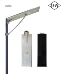 25W All in one solar street light
