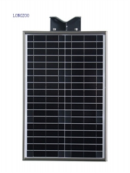 30W All in one solar smart light